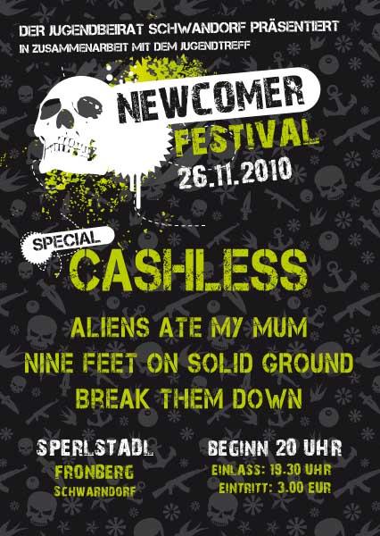 Flyer - Newcomer Festival 2010